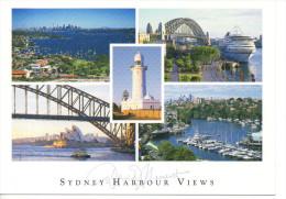 CP - PHOTO - SYDNEY HARBOUR VIEWS - 710 - WATSONS BAY - THE ROCKS - SYDNEY OPERA HOUSE - MOSMAN BAY AND MACQUARIE LIGHTH - Sydney