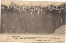 WIJNEGEM: Plechtige Begrafenis Van Wijlen Karel Verbist, 26 Juli 1909, De HH Leden Van Het Sportcomiteit (nr 7) - Wijnegem