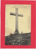 CHAMBERY 1911 LA CROIX DU NIVOLET CARTE LEGEREMENT SALIE - Chambery