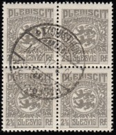 SCHLESWIG - Scott #1 Arms (*) / Used Block (bk690) - Schleswig-Holstein