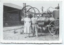 Photographie/Machine Agricole / Couple /1943  PHOTN54 - Métiers