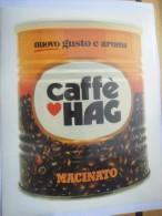 CAFFE' HAG   -  STICKER  ADESIVO  AUTOCOLLANT - PUBBLICITARIO - Pegatinas