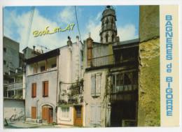 {41432} 65 Hautes Pyrénées Bagnères De Bigorre , La Place Du Moulin Et La Tour - Bagneres De Bigorre