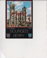 Bourges - Façade Occidentale De La Cathédrale  Saint-Etienne (XIIIe-XVIe S.), Ref 1512-239 - Bourges