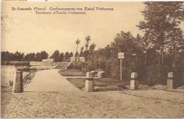 SINT-AMANDS: Grafmonument Van Emiel Verhaeren - Sint-Amands