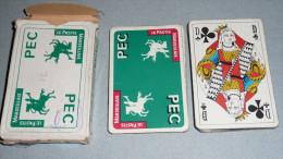 Rare Jeu De Cartes, Publicitaire PEC Pastis Marseillais Avec Joker - 32 Cartes