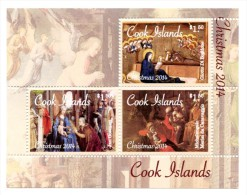 Cook 2014, Christmas, Painting By Giotto, Caravaggio, 3val In BF - Christmas