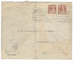 SVEZIA - SWEDEN - SVERIGE - 1941 - 2 X 15 Sergel - Opened Passed By Censor Wehrmacht - Viaggiata Da Stockholm Per Kie... - Covers & Documents