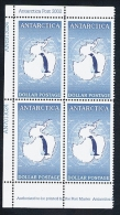 Antarctica Post Blue Penguin Superb Block Of Four - Stamps