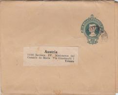 Brasilien 190? - 20 Reis Ganzsache Auf Zeitungsschleife Gel.n.Trieste In Austria - Brasilien