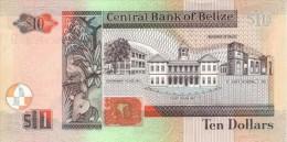 BELIZE P. 62b 10 D 2001 UNC - Belize