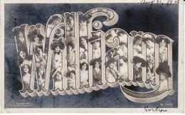 'William' Large Letter First Name, C1900s Vintage Postcard - Prénoms