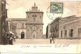 ITALIE NARO PIAZZA GARIBALDI SICILE AGRIGENTE DESTINATION CHARLEVILLE ARDENNES FRANCE - Agrigento