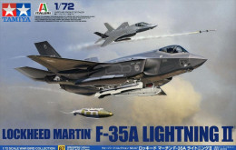 Lockheed Martin F-35A Lightning II   1/72 ( Tamiya ) - Airplanes