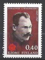 Finlande 1969 N°630 Johannes Linnankoski