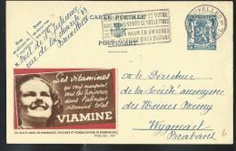 Publibel Obl. N° 487 ( VIAMINE, Tête D'enfant; Fille, Girls) Obl: Bxl: 24/10/1942 - Publibels