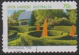 AUSTRALIA - DIECUT - USED 2014 70c Open Gardens - Wychwood, Tasmania - Usati