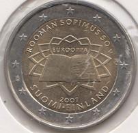 @Y@  Finland    2  Euro  2007   Commemorative  UNC   ROME - Finland