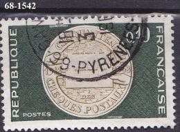 FRANCE ANNEE 1968 N°1542  OBLITERE - Usati