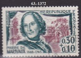 FRANCE ANNEE 1963 N° 1372   OBLITERE - Gebruikt