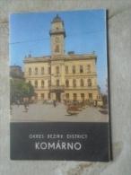Slovakia  - KOMÁRNO   Postcard Sized Brochure ,map  Description  Etc   D134773 - Dépliants Touristiques