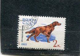 RUSSIA. 1965. SCOTT 3001. DOGS: IRISH SETTER - Oblitérés