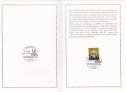 Germany Folder 1980 Fulda Pope John Paul II Visiting  (L76-29) - Pausen