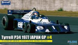 Tyrell P34 1977 Japan GP #4 1/20 ( Fujimi ) - Cars