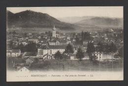 DF / 88 VOSGES / REMIREMONT / PANORAMA, VUE PRISE DU PARMONT / CIRCULÉE EN 1916 - Remiremont