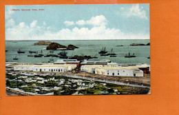 Maaia,YEMEN -  General View, Aden (petit Accrocen Bas) Printed For J.M. Judah. (non écrite) - Yémen