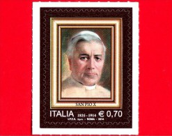 Nuovo - ITALIA - 2014 - Centenario Della Morte Di San Pio X - 0,70 € • Ritratto - 2011-...:  Nuevos