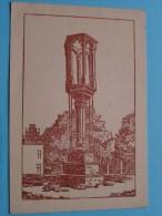 """"""" LE PILORI """" Braine Le Chateau ( C Lanis ) -  Anno 1950 ( Zie Foto Voor Details ) !! - Kasteelbrakel"""