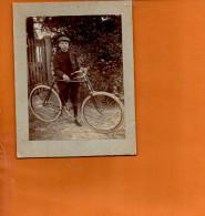 Cyclisme - Vélo - Photographie De Dimensions (8 Cm X 10.3 Cm) - Escalade