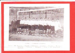 59 LOMME Photo Equipe Football 1935 / 1936 Deux Scanns - Lomme