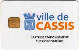 Carte De Stationnement Sur Horodateurs : Ville De Cassiss - France