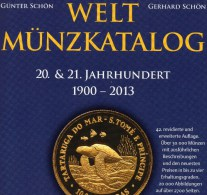 Schön Coins Of The World Welt-Münzkatalog 2014 New 50€ Münzen 20/21.Jahrhundert A-Z Europa Amerika Afrika Asien Oceanien - Jewels & Clocks