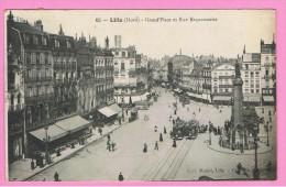Vluchtelingen In Rijsel Die Naar Het Thuisfront In Gistel In België Schrijven  1914-1918 - Guerra 1914-18