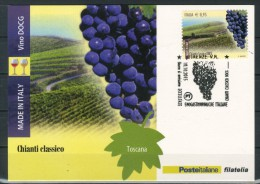 ITALIA / ITALY 2015 - Vino DOCG - Chianti Classico -  Maximum Card Come Da Scansione - Vins & Alcools