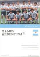 COMO EN EL 86 - TARQUETA EVOCATIVA DEL EQUIPO DEL MUNDIAL DE FUTBOL DE MEXICO 1986 QUE SALIO CAMPEON MARADONA - Calcio
