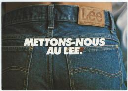 Mettons Nous Au LEE - Photo : Pascal Bouclier - Amorimage Pour Humour à La Carte PU 331 - Publicité