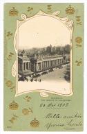 RB 1080 - Scarce 1903 Ornate Raphael Tuck Postcard - Museum Of Antiquities Edinburgh Scotland - 1d Rate To France - Midlothian/ Edinburgh