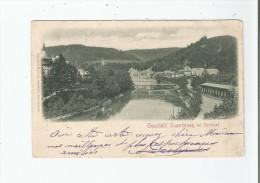 GIESSHUBL SAUERBRUNN BEI KARLSBAD (KARLOVY VARY TCHEQUIE) 1902 - Tchéquie
