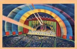 "04567 ""RADIO CITY MUSIC HALL, WORLD LARG. THEATRE, NEW YORK CITY - N.Y."" ARCHITECT. OF XX CENTURY . ORIGINAL POST CARD - Other"