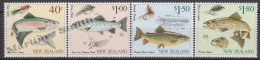 New Zealand - Nouvelle Zelande 1997 Yvert 1533-36  Fly Fishing - MNH - Nuova Zelanda