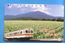 Japan Japon Telefonkarte Télécarte Phonecard Telefoonkaart - NTT Nr. 251 - 057 Eisenbahn Train Zug - Trains