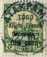 !!! TOGO : N°33a B SURCHARGE AU TYPE II, AVEC VARIETE DU –Y- MAIGRE. OBLITERATION SUPERBE - Togo (1914-1960)