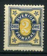 SUEDE  ( POSTE ) : Y&T  N° 52  TIMBRE  NEUF  SANS  TRACE  DE  CHARNIERE  , A  VOIR .