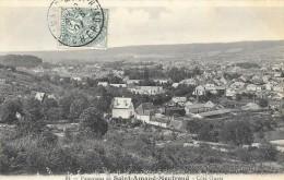 SAINT AMAND MONTROND  (cpa 18)  Panorama De St Amand Montrond Côté Ouest - Saint-Amand-Montrond