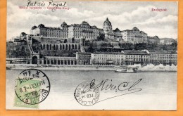 Budapest Hungary 1906 Postcard Mailed To Canada - Hungría