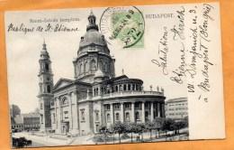 Budapest Hungary 1906 Postcard Mailed To Canada - Hungary
